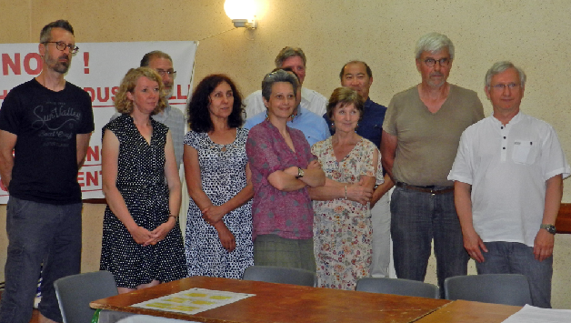 Une grande partie des membres du nouveau Collège d'AIVES
