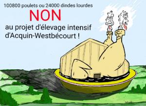 """Élevage d'Acquin : """"Un insoutenable projet"""" !"""