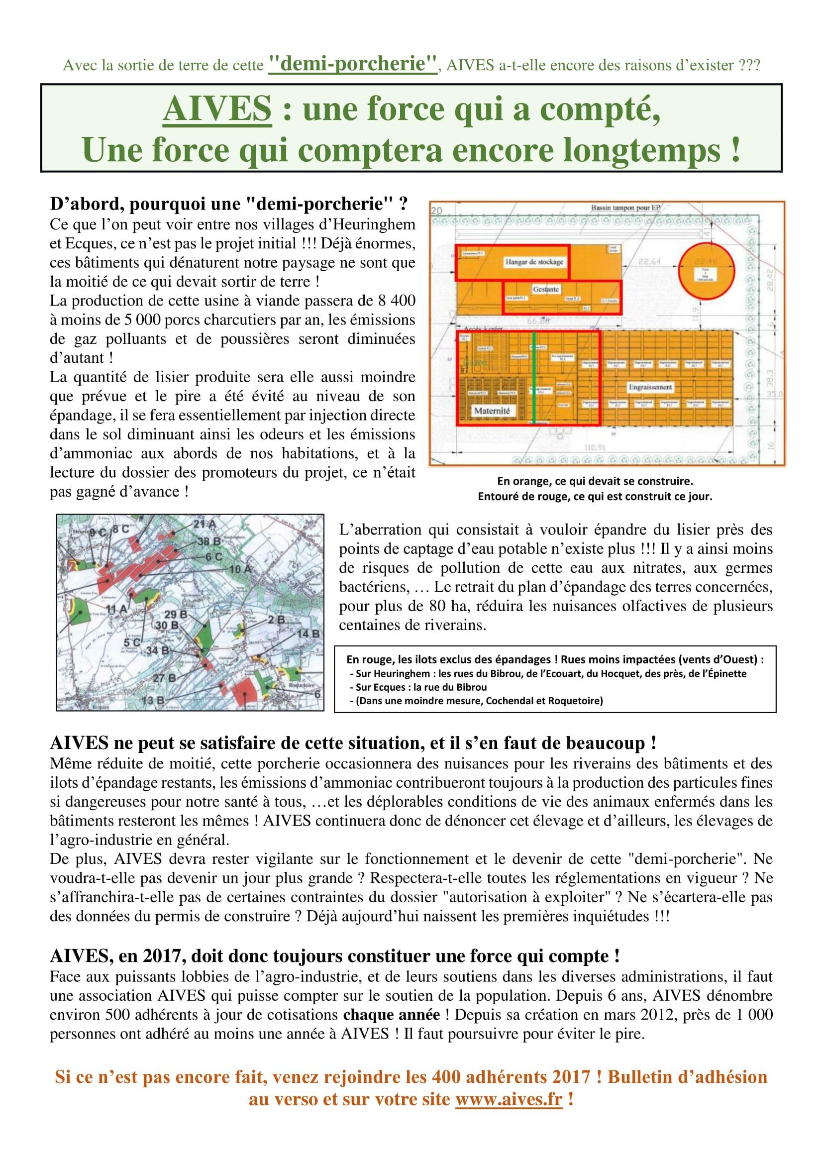 AIVES Tract Octobre 2017 aux villageois et adhérents-1
